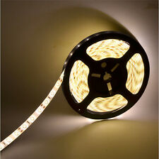5M 300Leds 5630 SMD Bright Flexible Led Strip Lights Lamp Warm White DC12V