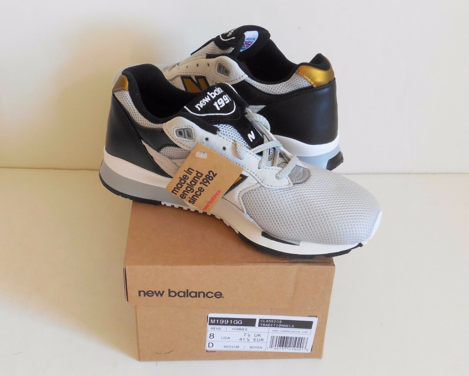 New Balance M1991GG Made in England Men's 8D New