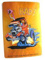 2 Rat Fink Bad Rat Rod Car Decal / Sticker Ed ' Big Daddy ' Roth 2003