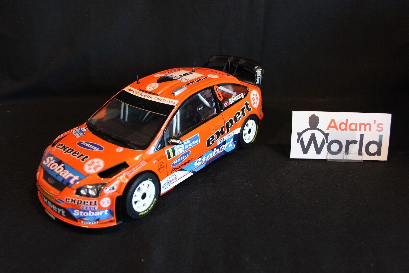 Sun Star Ford Focus RS  WRC 2009 1 18  6 Solberg   Hommeskerud Argentina (JvdM)  offre spéciale