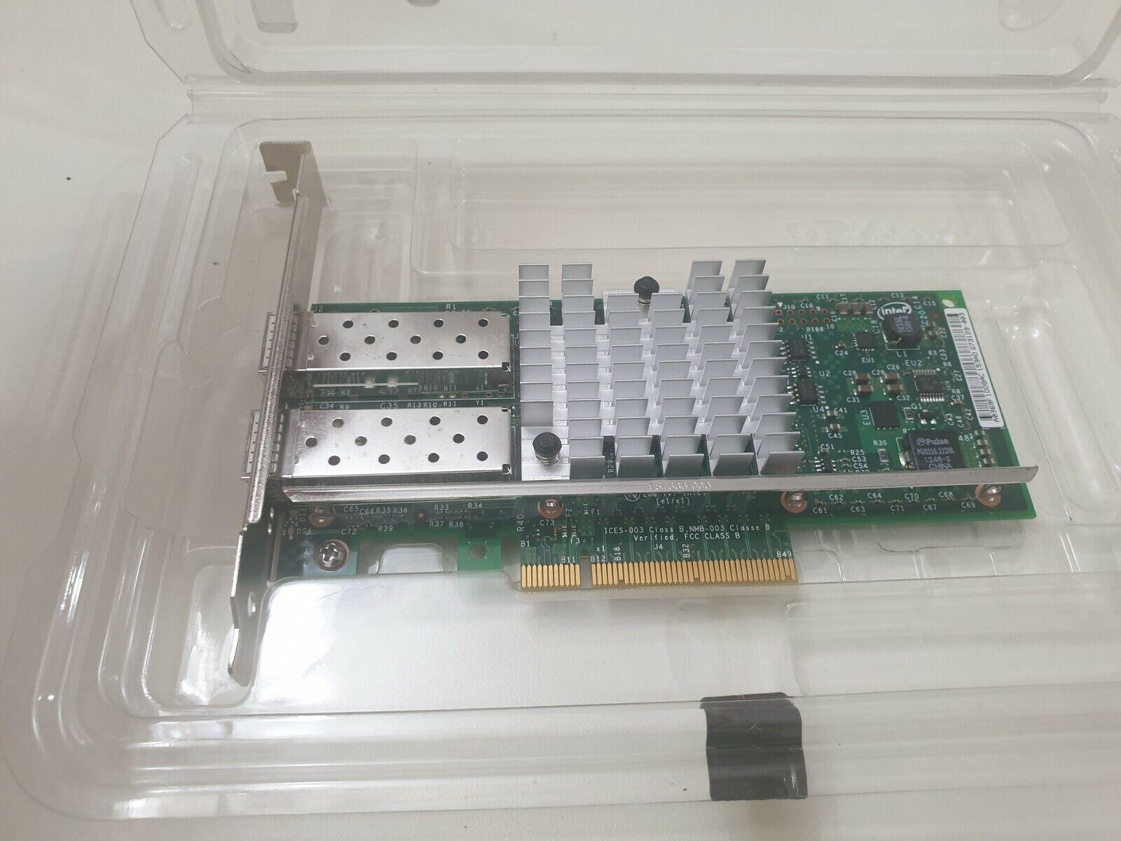 Dell 0XYT17 X520-DA2 10Gbps PCI-e Dual Port Ethernet Network Card
