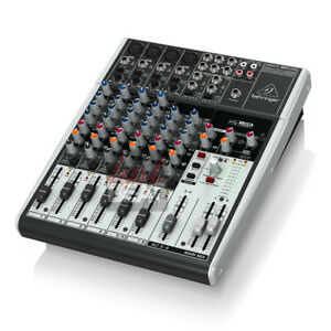 behringer xenyx 1204usb 12 input mixer mic preamp usb audio interface no effects ebay. Black Bedroom Furniture Sets. Home Design Ideas