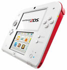 Nintendo 2DS White & Red Handheld System