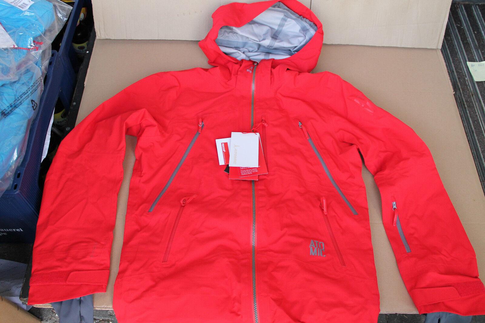Atomic Atomic Atomic Herren Skijacke Ridgeline 3L Jacket - rot Größe S und L 55322c