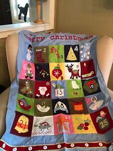 Pottery Barn Kids Advent Calendar Christmas Ebay