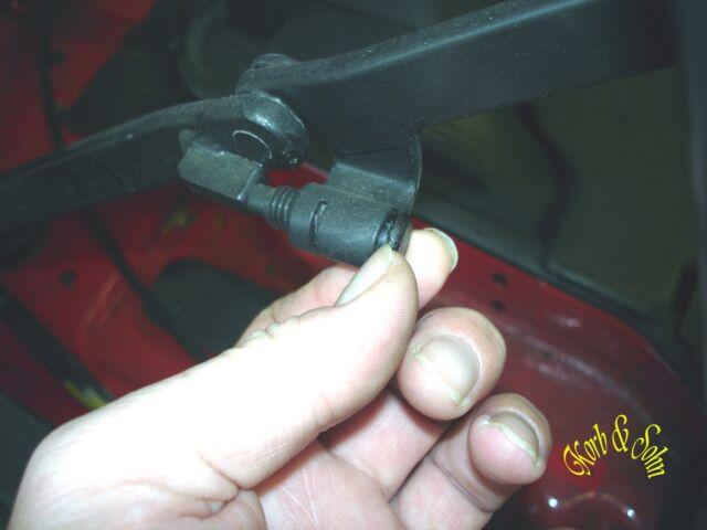 Audi 80 Cabrio 8G B4 Vorlauf Rücklaufleitung Zylinder links unten Z//Y 8G0871793