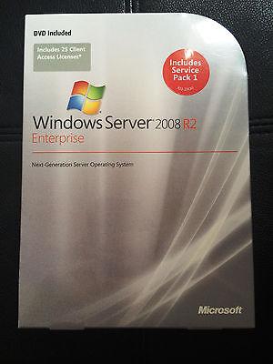 MSFT Windows Server 2008 R2 Standard Edition FULL RETAIL LICENSE 64 BIT