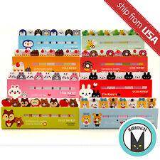 Lot 8pcs Kawaii Cute Animal Index Tab Sticky Notes Flag Cartoon Memo Bookmark