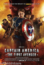 CHOOSE YOUR SIZE FREE P+P Captain America Marvel 2018 New Chris Evans Poster