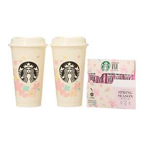 2021 Starbucks Coffee Japan limited SAKURA202 Reusable Cup Spring F/S Japan