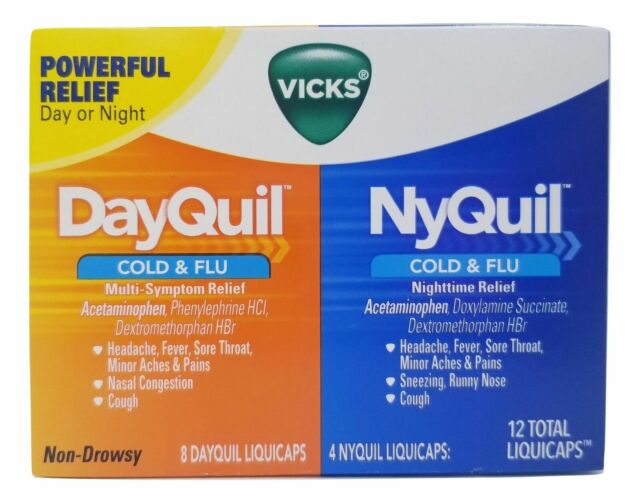 what is the difference between dayquil and nyquil