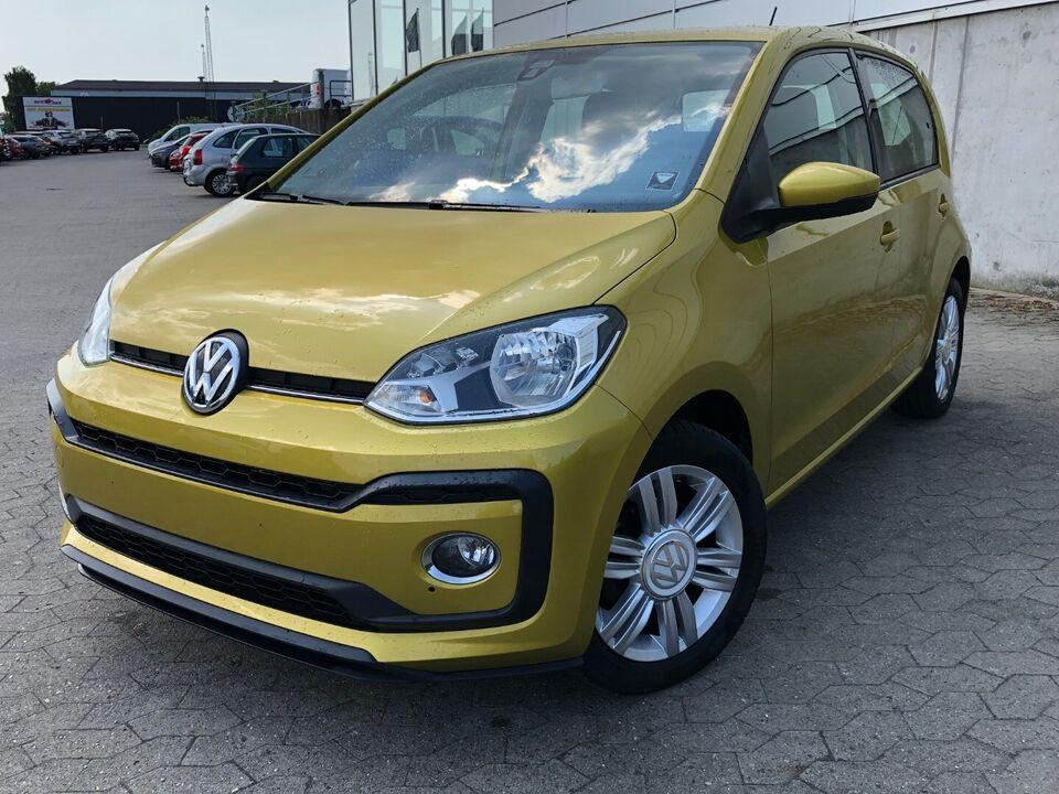 VW Up! 1,0 TSi 90 High Up! BMT Benzin modelår 2018 km 67000 Gul