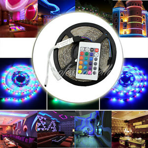String Lights For Under Cabinets : 5M 300Led RGB Neon Under Cupboard Cabinet Wardrobe Counter Fairy String Light UK eBay