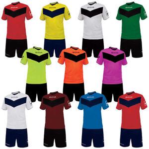 Givova Fußball Set Trikot mit Short Vittoria Teamwear Trikotset 3XS - 2XL neu