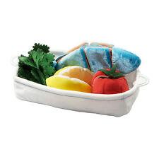 IKEA Duktig Kids Salmon Fish Stuffed Toy Food Play Set Pretend Kitchen Soft Bake