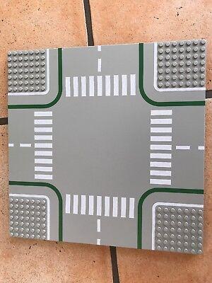 1 x Lego System Bau Platte 32x32 Straße gerade 7N alt-hell grau 32 x 32 Noppen 2