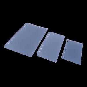 PVC-storage-Bag-Spiral-Notebook-Coil-Ring-Binder-Filler-Paper-Seperate-PlannerLJ