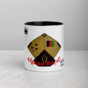 Afghan Kite - Coffee Mug! Stylish & Sleek  ( Gold Kite )