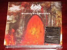 Bloodbath: Bloodbath Over Bloodstock CD + DVD Set 2014 Peaceville Digibook NEW