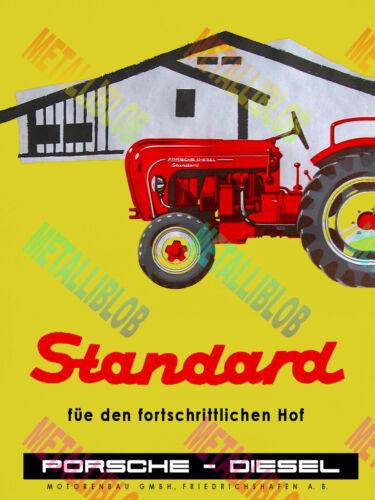 Cartel De Publicidad De Tractor estándar Diesel de Porsche 02 (A3) - (3 para 2 Oferta)
