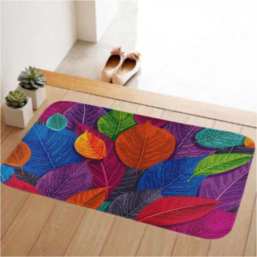 Colorido Antiderrapante Cozinha Living Sala De Jantar área de Tapete Carpete Tapetes Grande Pequeno