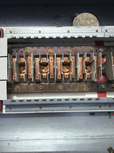 COPPER BUSS ONLY Details about  /COPPER PANEL GUTS FOR CUTLER HAMMER BAB STYLE PANEL