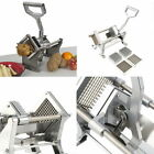 Potato French Fry Fruit Vegetable Cutter Slicer Commercial Quality 3 Blades US