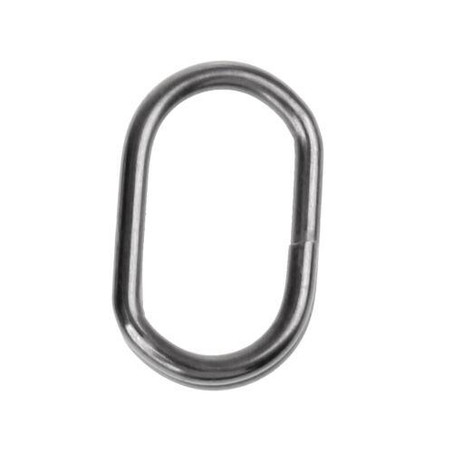 50 x Angeln Haken Fisch Köder Ring set