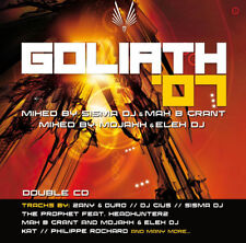 """""""Goliath 2007 Official Compilation"""" 2CD Set Techno Trance Hardstyle"""