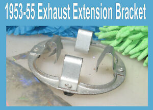 Corvette 1953 1954 1955 Exhaust Extension Retainer Original  (1) Only
