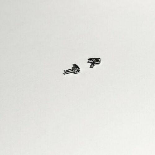 2 Phares//Clignotants en White Metal 1:43 Longueur 4 mm