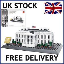 La Casa Blanca de Washington América Creador Construcción Ladrillos 778 piezas compatible
