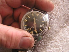 Vintage Westclox Military Diver Watch