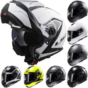 979842315e6 LS2 FF325 Strobe Modular Flip Up Motorbike Helmet Motorcycle Full ...