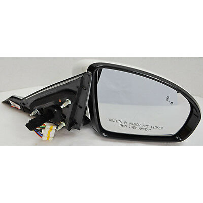 Passenger factory 2016-18 Chevy Cruze black RH power door mirror w// signal BSM