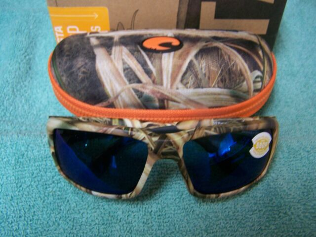3f71f83a1 Costa Del Mar Fantail Polarized Sunglasses Mossy Oak Camo Blue 580p ...