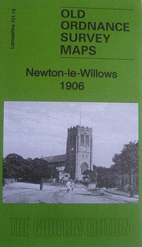Old Ordnance Survey Map Newton-le-Willows Lancashire 1906  Sheet 101.1 Brand New