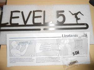 Lizatards-Gymnastics-Gymnast-Hanger-Medal-Display-Holder-Rack-Level-5