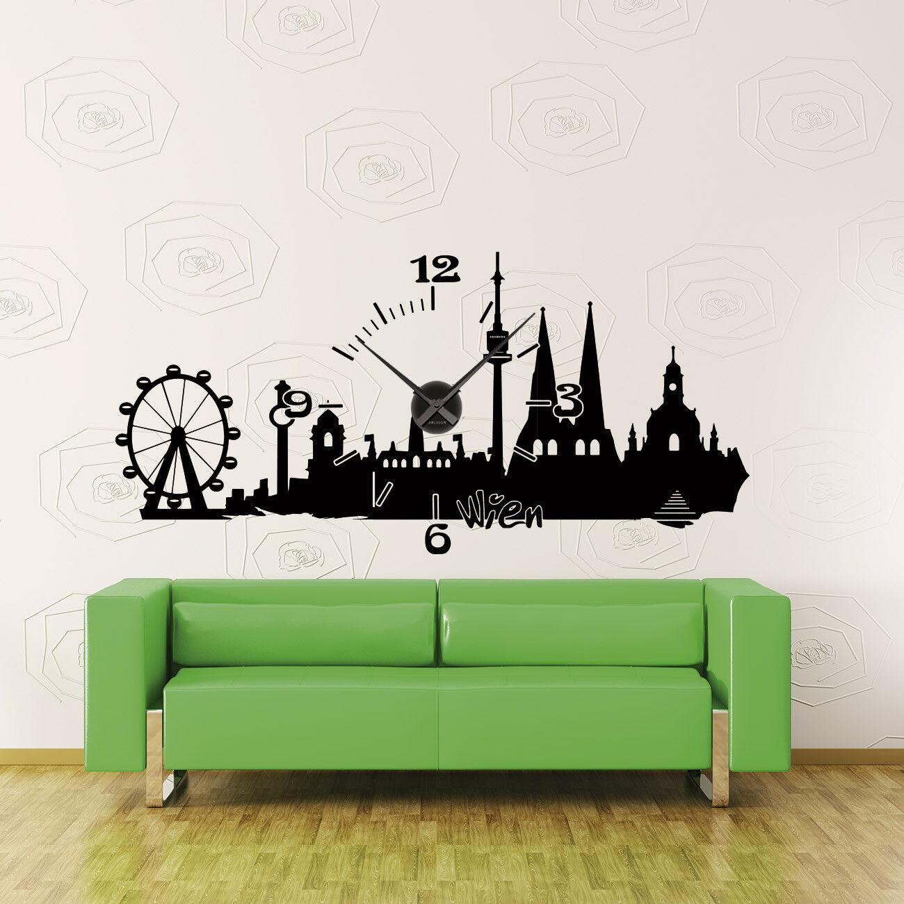 Horloge Mural +400+ KARLSSON horloge Skyline Vienne Autriche Austria Clock +400+ Mural 29af09