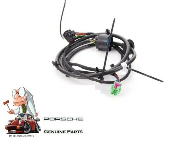 Genuine Porsche Cayenne Trailer Hitch Rear Bumper Wire