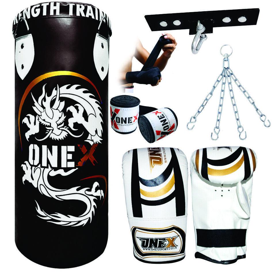 Nuevo Top Rated Perforación Bolsa Guantes de boxeo de entrenamiento gimnasio en Cuerpo Fitness