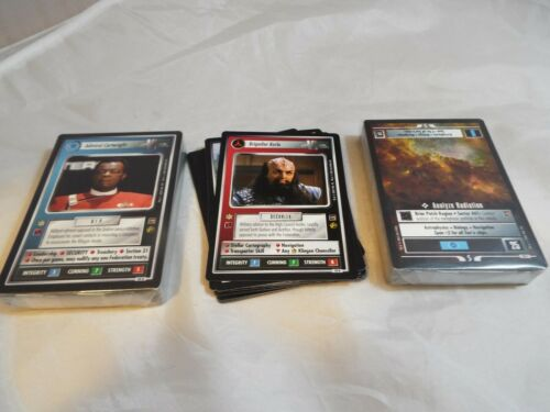 COMMON UNCOMMON AND RARE SET STAR TREK CCG MOTION PICTURES COMPLETE 100 CARD