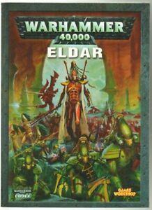 ELDAR Codex Warhammer 40.000 40K Manuale ed. Games Workshop