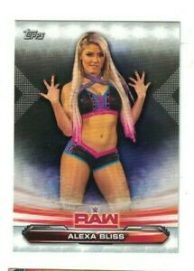 2019-Topps-WWE-Raw-Complete-Base-Set-90-ALEXA-BLISS-RONDA-ROUSEY-QTY-AVAIL
