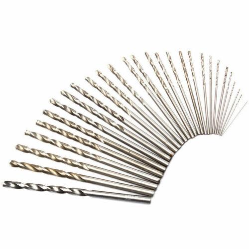10 Stück Spiralbohrer HSS Bohrer Metallbohrer Edelstahlbohrer ⌀ 0,3-3mm