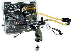 Barnett-PRO-DIABLO-Power-Hunting-Slingshot-Catapult-Sight-FREE-Practice-AMMO