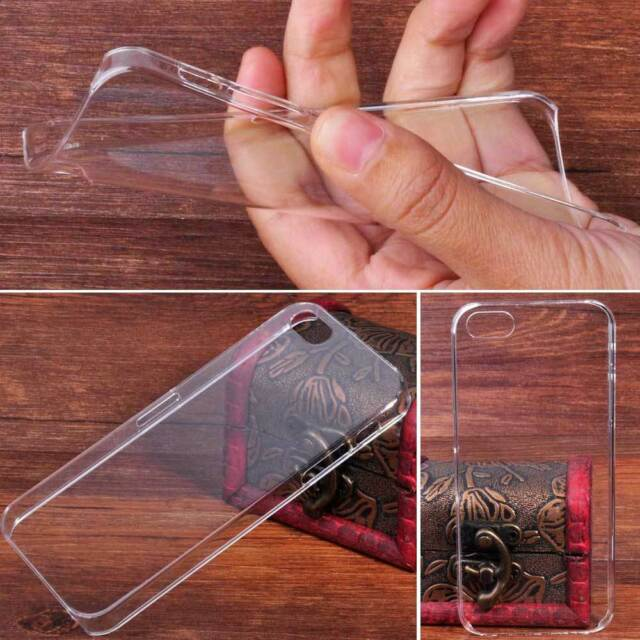 For Apple iPhone 5S Invisible Ultra Thin Transparent Clear Hard Back Case Cover