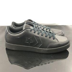 11 Shoes Nero Womens Mens Star Converse 159803c Court Confort Leather Ox TRx1vxqZ