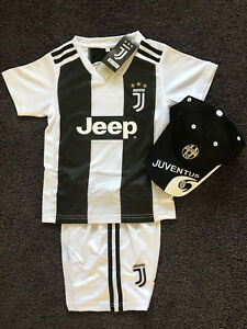 huge discount 0142b d5c96 Details about [EXPRESS POST] 2019 kids soccer jersey boy Juventus home kit  set #7 Ronaldo