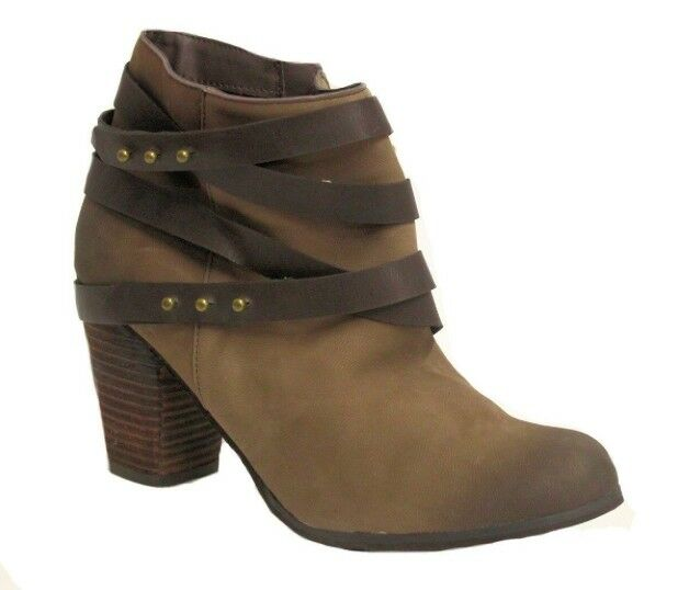 BP Train Wrap Belted Bootie